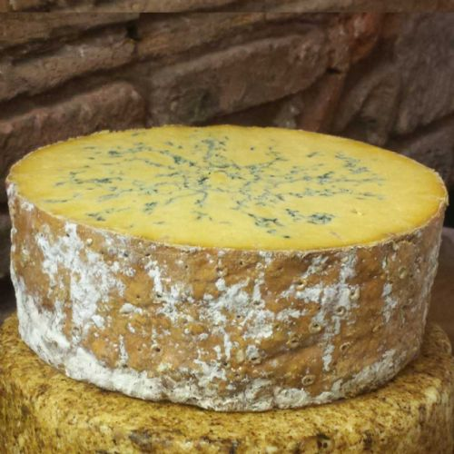 Shropshire Blue Cheese from the Colston Bassett Dairy